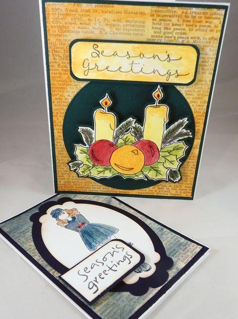 Cómo crear tarjetas de vacaciones por Steph Ackerman