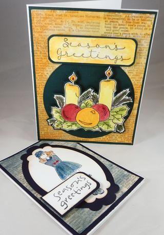 Dos tarjetas que ya están listos para el envío de pintado.