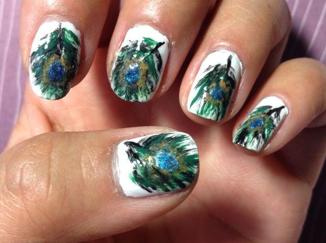 Cómo crear Peacock Nails