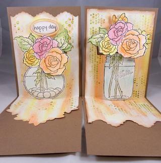 Estas tarjetas están hechas de manera que los elementos
