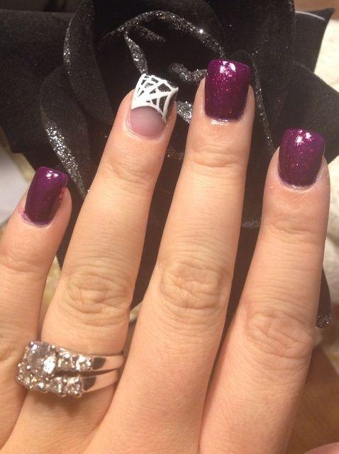 Cómo crear Spiderweb Nails ??????