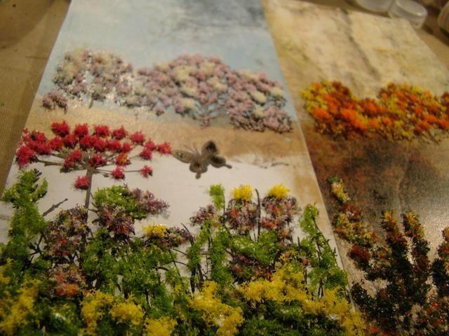 Me gusta Flor suave, ya que todavía le permite ver la imagen estampada en el fondo para la profundidad. Maravilloso textura. Asegúrese de secar completamente.