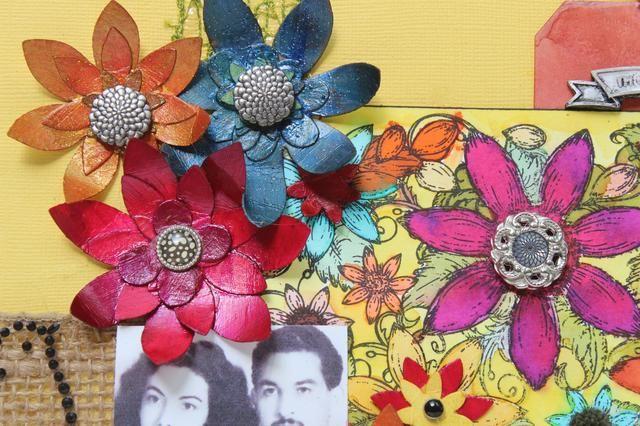 mirar los colores vibrantes y cuán grande pares Arte Antología con sentidas creaciones!