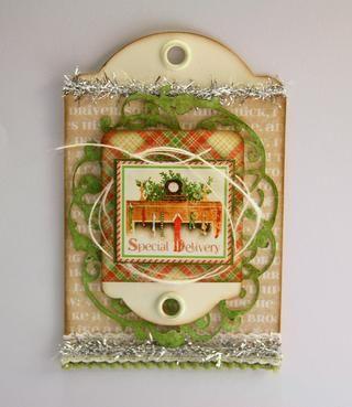 Sin apretar adjuntar guita marfil con algunas capas de menores y mayores de la imagen.