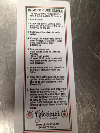 Aquí está nuestra receta