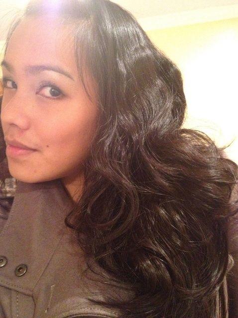 Fotografía - Cómo Curl pelo: Sin calor / Método bollo