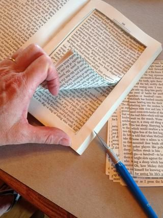 Continuar el corte hasta que todas las páginas se eliminan en el bloque.