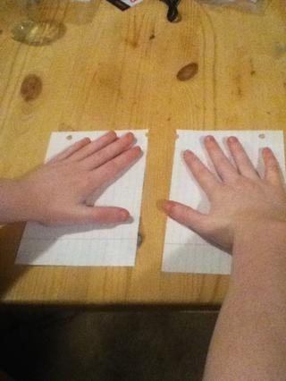 Ahora tiene dos pedazos de papel. :)