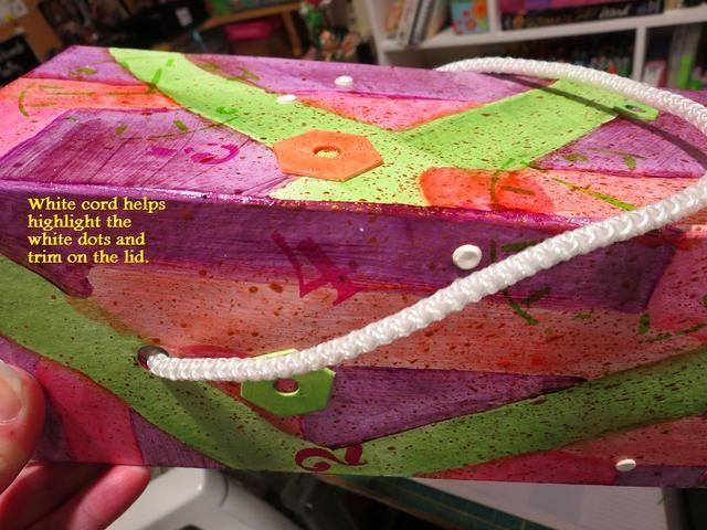 He utilizado un cable de una tienda de comprar bolsa de regalo.