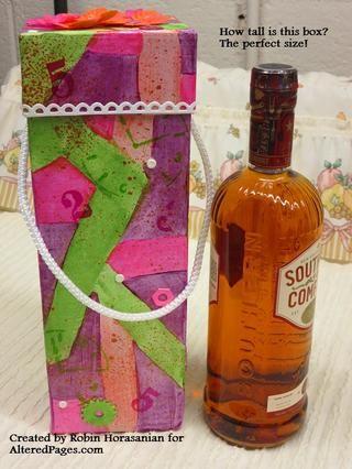 Botella utiliza como referencia para mostrar el tamaño de la caja .--)