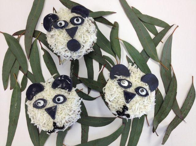 Cómo decorar una magdalena como una receta de Panda