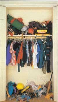 Cómo diseñar un adolescente's Closet