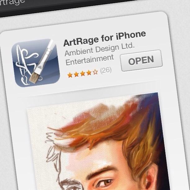 Descarga la aplicación Artrage, disponible para teléfonos y computadoras. Voy a estar mostrando este how-to en mi iPhone.
