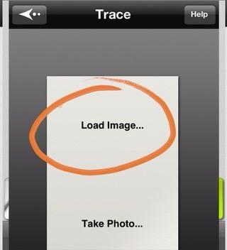 Cargar imagen para seleccionar de tus fotos.