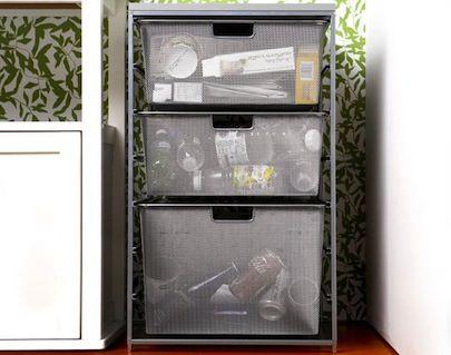Fotografía - 7 Bricolaje Centros de Reciclaje para espacios pequeños
