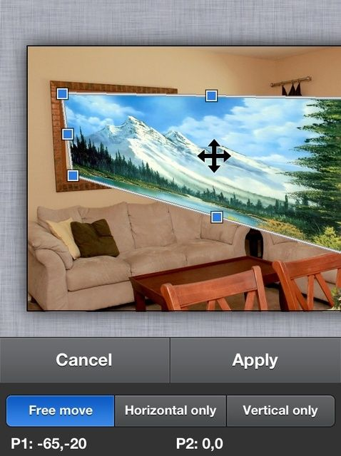 Cómo distorsionar las imágenes y capas en ArtStudio