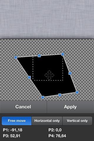 La capacidad para alterar la forma de una imagen o capa puede ser muy útil. Por ejemplo esta imagen crea una especie de efecto 3D.