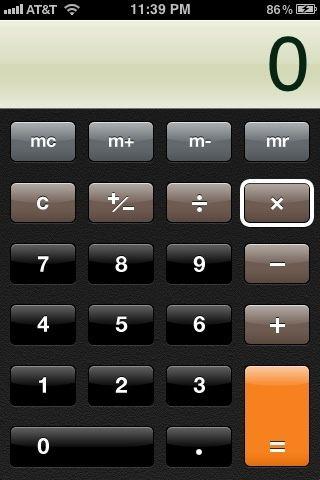 Luego haga clic en el (x) clave multiplican.