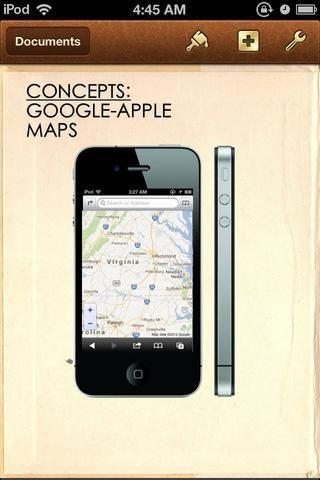 CONCEPTO: GOOGLE MAPS-APPLE.
