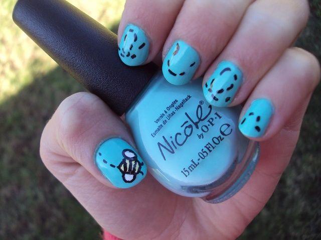 Cómo hacer Bee Nails