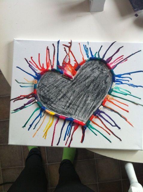 Cómo hacer Crayon Arte