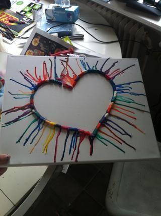 Todos los lápices de colores se funden :)