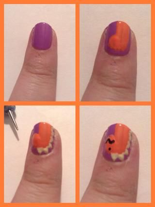 Mi otro dinosaurio. Ello's actually a little bit better than my other one. And the bottom left pic, that is the dotting tool I used.