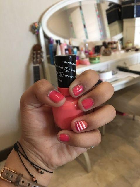 Cómo hacer Gradiente Pink Nails