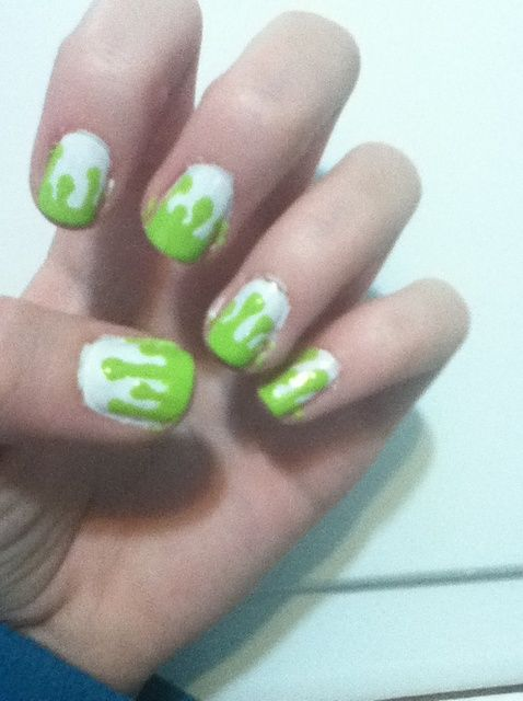 Cómo hacer pintura de goteo Nails! ??????