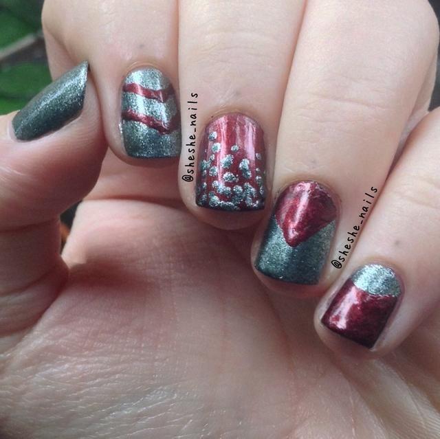 Espero que sus uñas se vuelven de maravilla !!