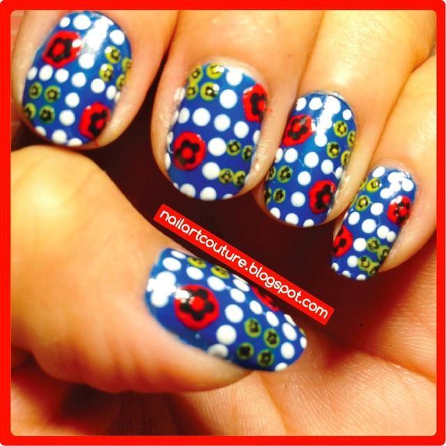 Ahora el arte de uñas es completa. Por favor, consulte nuestra mi blog y encaje guías para más arte del clavo tutorial! Nailartcouture.blogspot.com