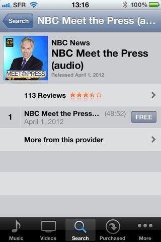 Una vez que llegue aquí tienes dos opciones pulse sobre el nombre para transmitir los podcast o pulse sobre la libertad de descargar el podcast para después escuchar. Disfrutar