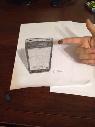 Aquí están mis otros dibujos en 3D
