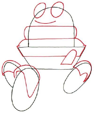 Cómo dibujar un Robot de dibujos animados en 5 pasos