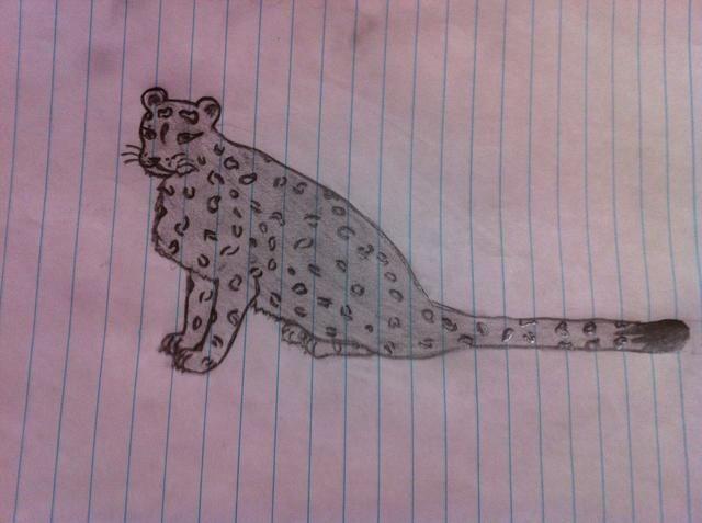 Aquí es otro de mis dibujos no tan buenos que metí la pata en ella ... ??????