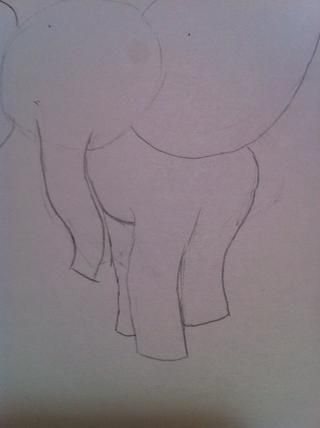 Borre algunas líneas y hacer algunas piernas bonitas! Doesn't need to be perfect!