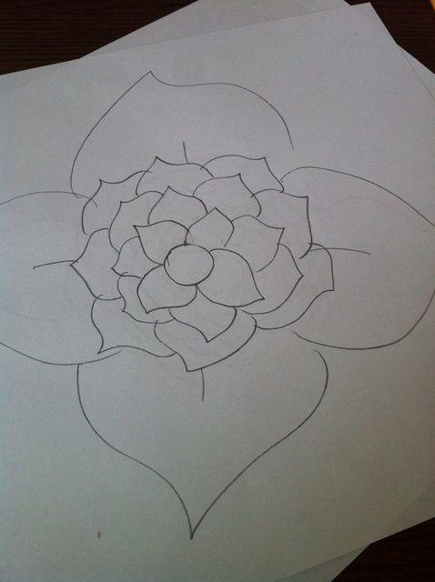 Cómo dibujar una flor ????????????