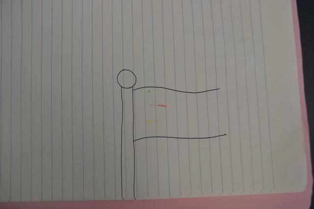 A continuación, dibuje dos líneas curvas de este tipo.