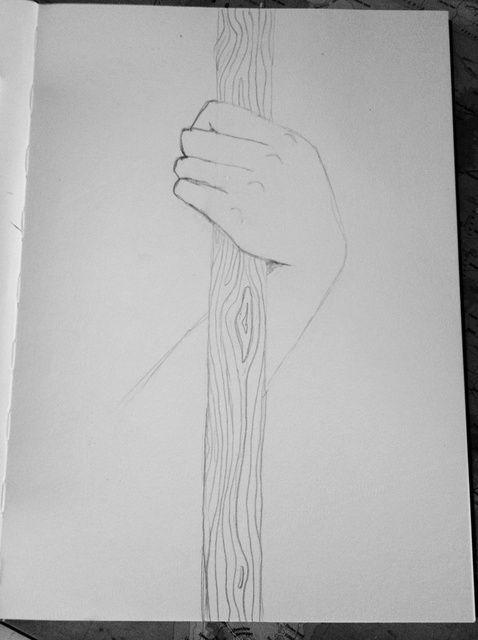 Cómo dibujar una mano con un Staff