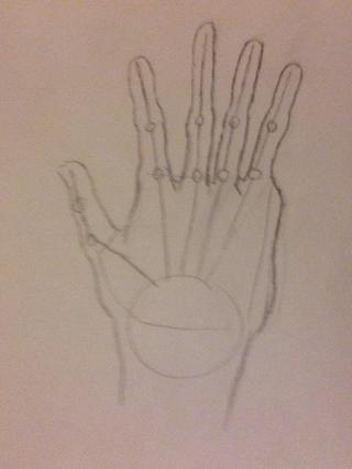... Y aquí está! Tu mano.