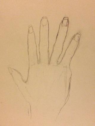 Aquí está una mano mejor que yo. Que se diviertan con ella y como he dicho, usa tu mano como una referencia mucho. Ponga alguna pregunta en los comentarios para cualquiera de las partes yo no't explain enough.