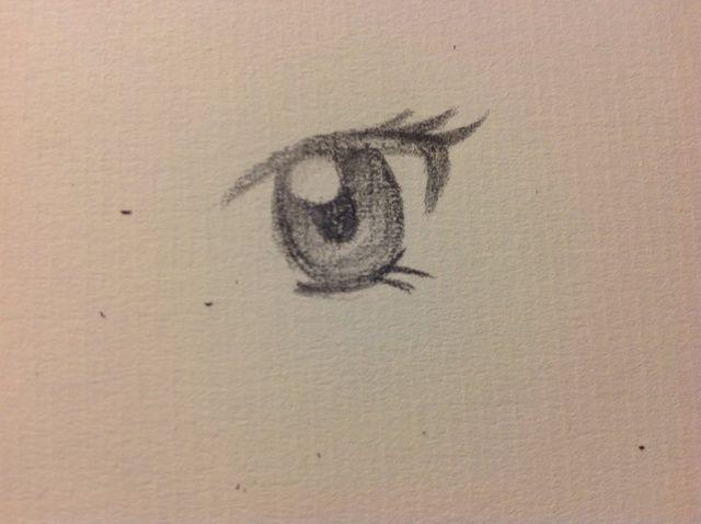 Cómo dibujar un ojo Manga