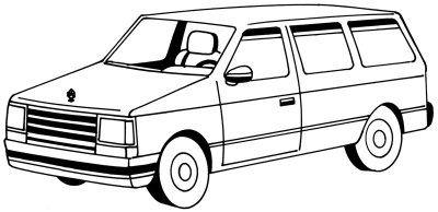 Cómo dibujar un Minivan en 5 pasos