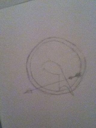 Dibujar el cuerpo y la cola.