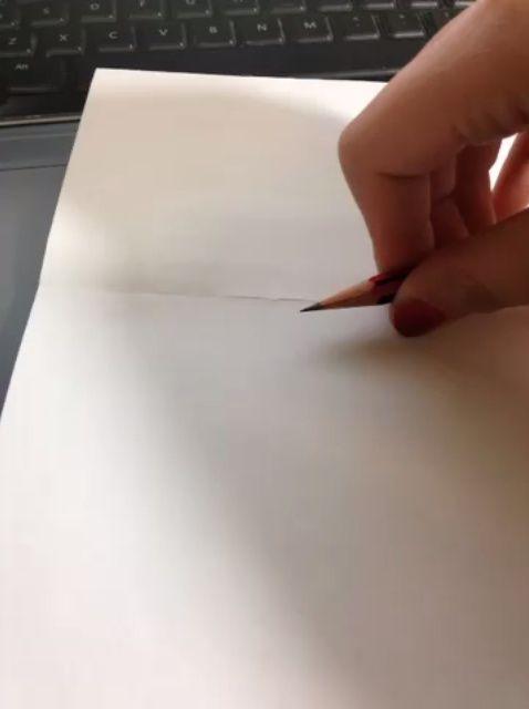 Cómo dibujar un círculo perfecto con sólo un lápiz