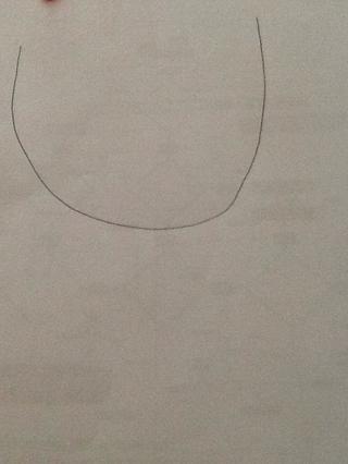 Dibuja una gran U