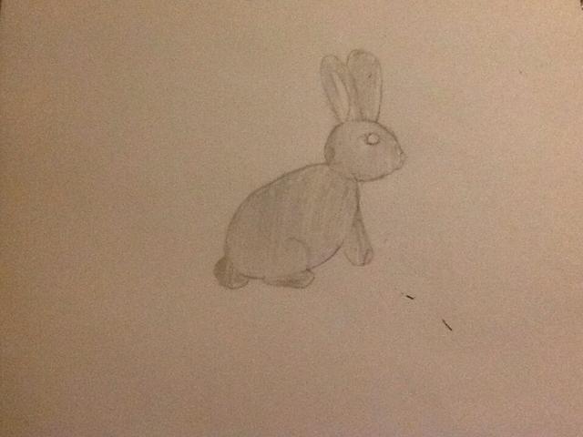 Ahora usted puede sombra o color en su conejo. Usted puede cualquier color que te gusta!