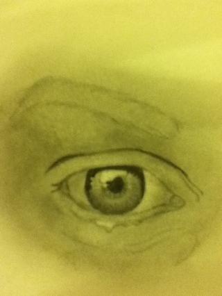Dibuja los tonos más oscuros en el iris como así :)