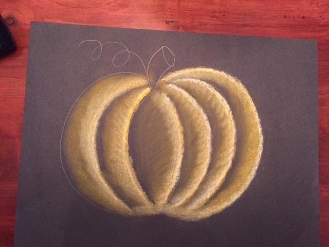 Mezcla en su naranja utilizando su tejido.