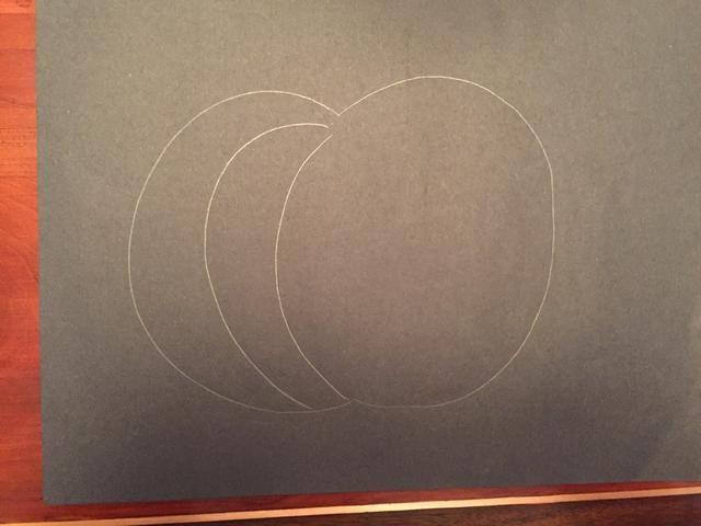 Dibuja otra línea curva.